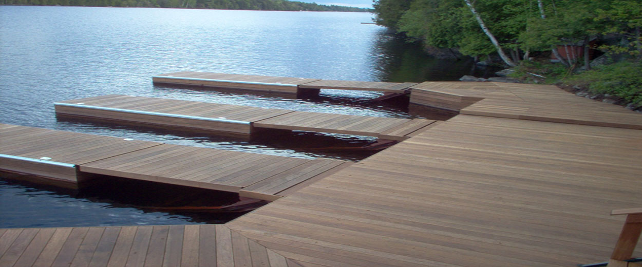 Floating Water Ballast Docks